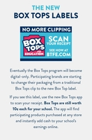 Box Tops for Larned Elementary School