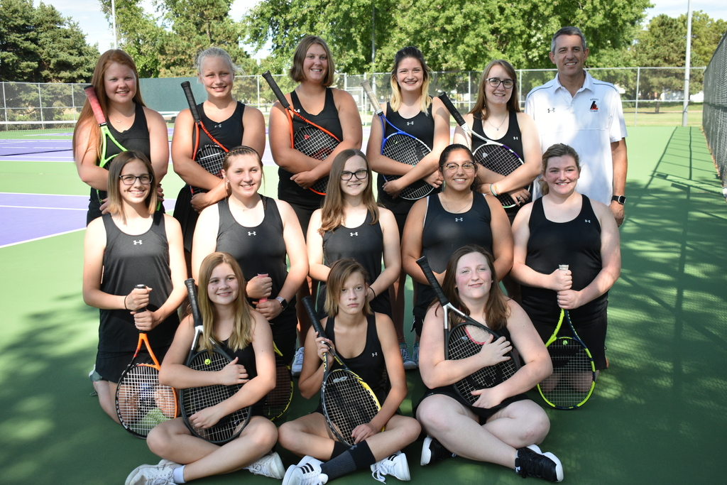 2019-2020 LHS Girls Tennis Team