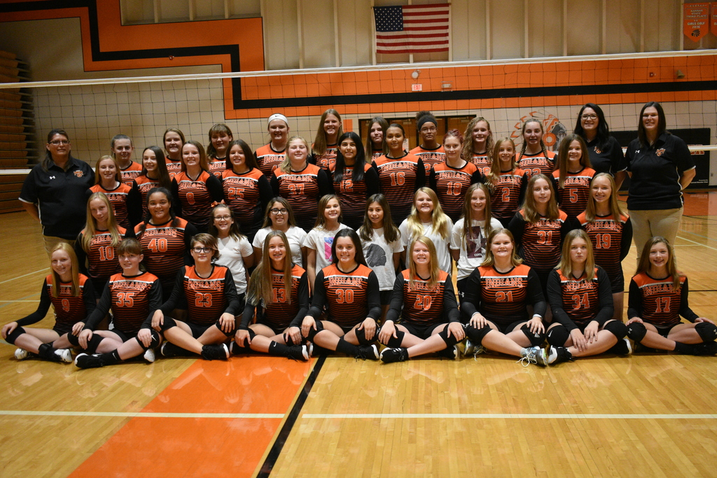 Meet the LMS 2019-2020 Volleyball Team