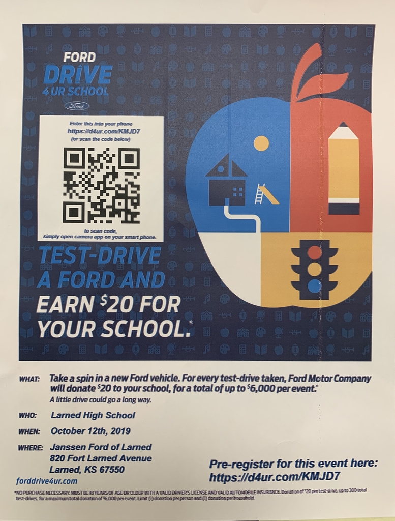 Drive 1 for your school poster