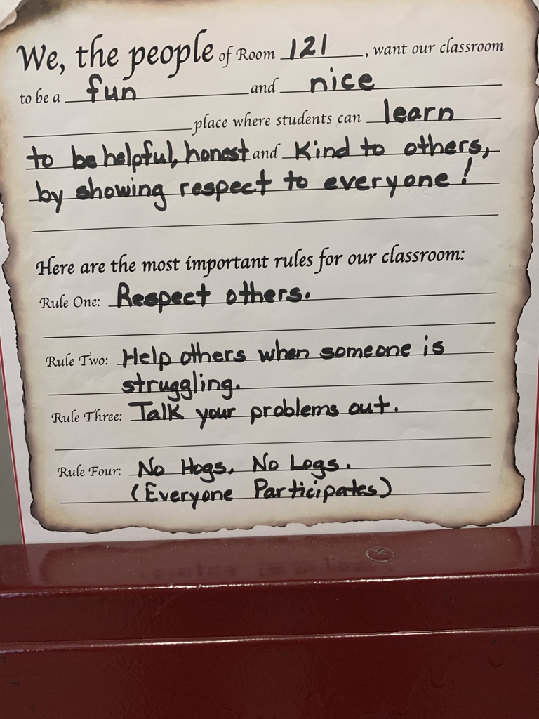 LMS Classroom Rules