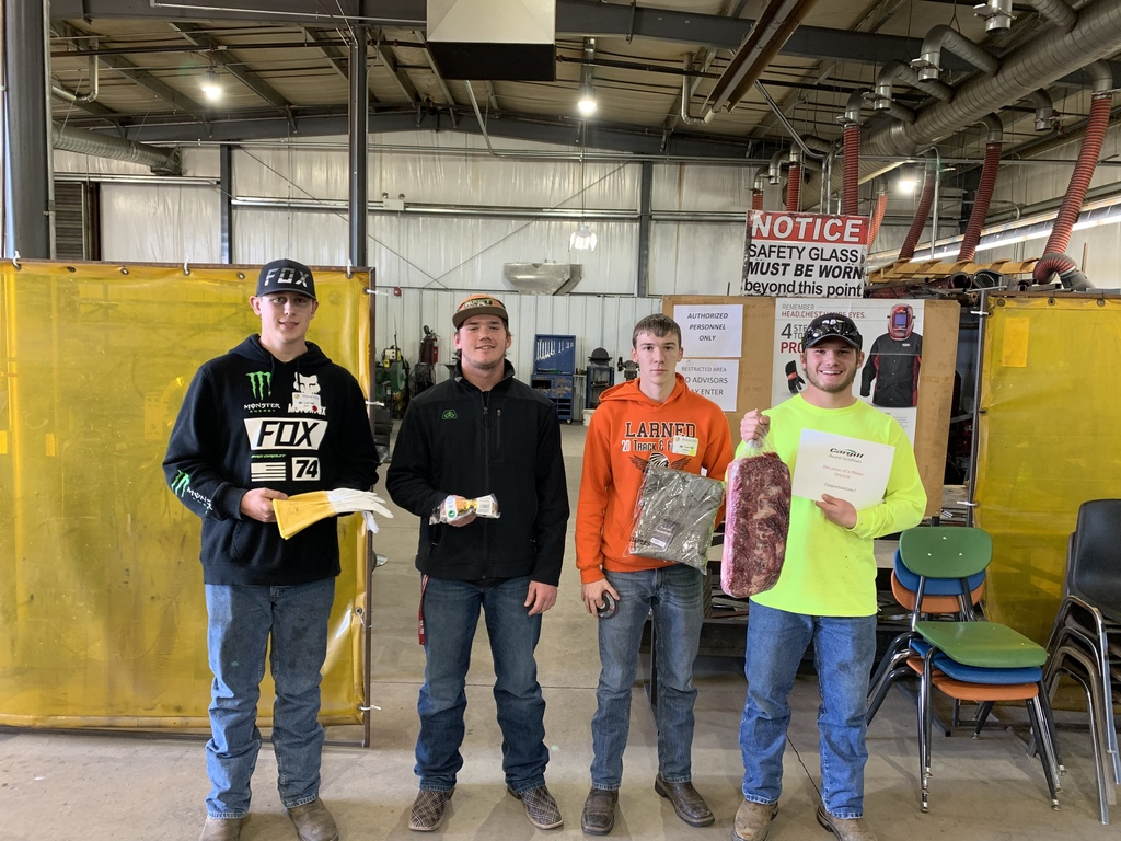 FFA Welding Team at DCCC