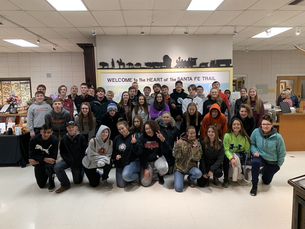 World History Students at the Trail Center