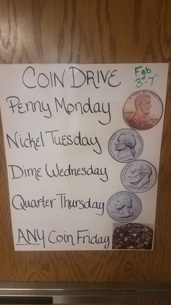 LMS Coin Drive