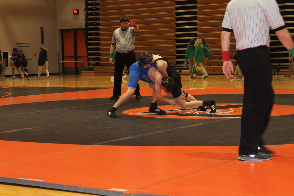 Dylan Roberds beating the Reno Valley opponent